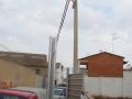 Modificación líneas eléctricas en Sariñena (Huesca) (7)